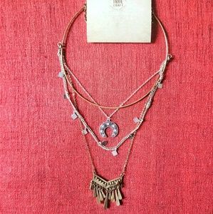 NWT True Craft Layered Necklace